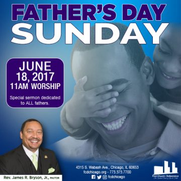 father's day at first church of deliverance